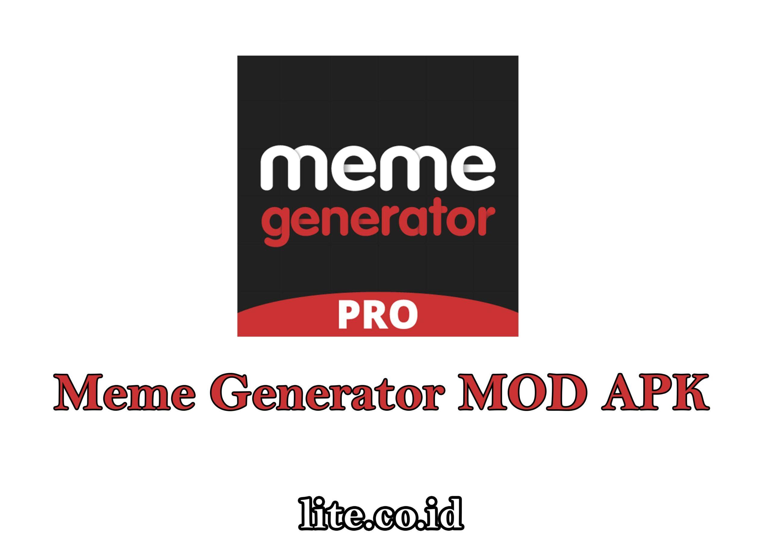 meme generator mod apk