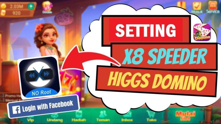 Setting X8 Speeder Higgs Domino