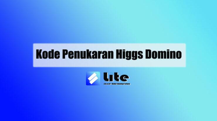 Kode Penukaran Higgs Domino